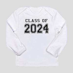 Class of 2024 Long Sleeve Infant T-Shirt