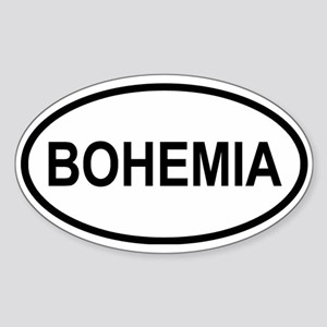 Bohemia Oval Sticker