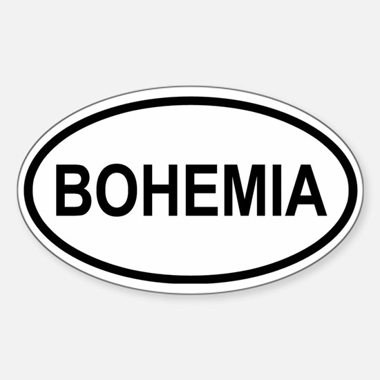 Bohemia Oval Decal