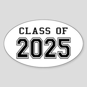 Class of 2024 Sticker (Oval)