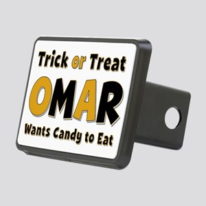 Omar Trick or Treat Rectangular Hitch Cover