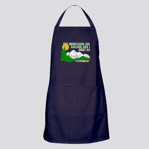 Mountains Are Calling Apron (dark)