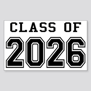Class of 2026 Sticker (Rectangle)