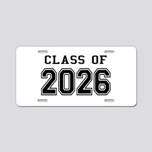 Class of 2026 Aluminum License Plate