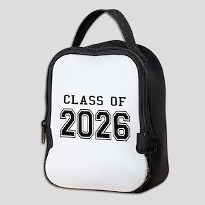 Class of 2026 Neoprene Lunch Bag