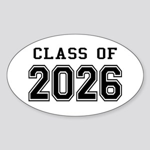 Class of 2026 Sticker (Oval)