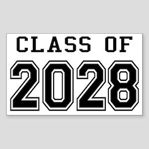 Class of 2028 Sticker (Rectangle)