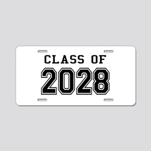 Class of 2028 Aluminum License Plate