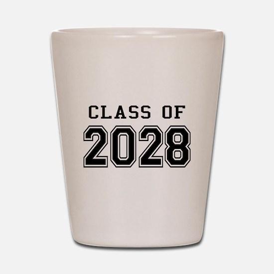 Class of 2028 Shot Glass