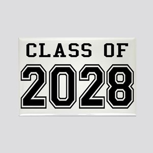 Class of 2028 Rectangle Magnet
