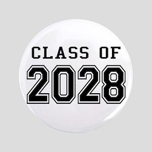 """Class of 2028 3.5"""" Button"""
