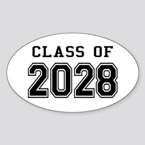 Class of 2028 Sticker (Oval)
