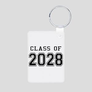 Class of 2028 Aluminum Photo Keychain