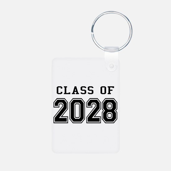 Class of 2028 Aluminum Photo Keychain