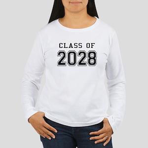 Class of 2028 Women's Long Sleeve T-Shirt
