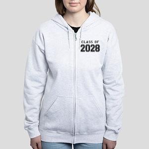 Class of 2028 Women's Zip Hoodie