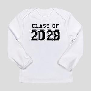 Class of 2028 Long Sleeve Infant T-Shirt