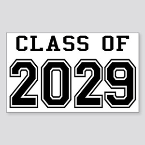 Class of 2029 Sticker (Rectangle)