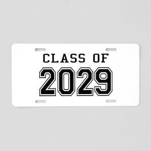 Class of 2029 Aluminum License Plate