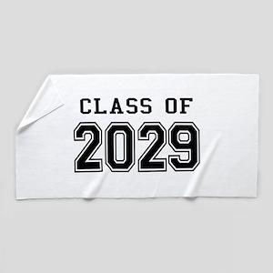 Class of 2029 Beach Towel