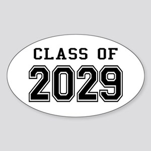 Class of 2029 Sticker (Oval)