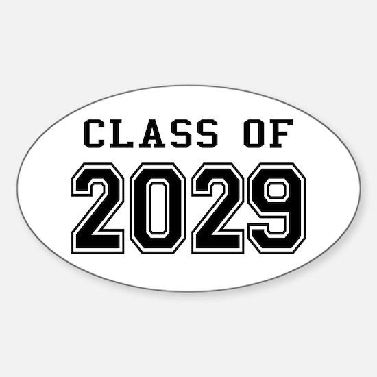 Class of 2029 Sticker (Oval)