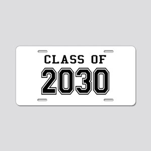 Class of 2030 Aluminum License Plate