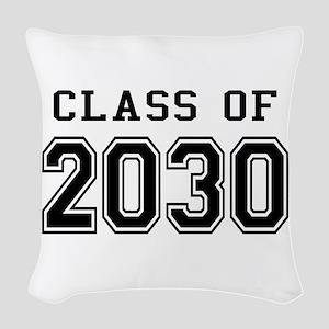 Class of 2030 Woven Throw Pillow