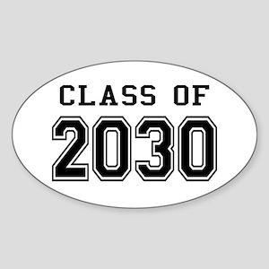 Class of 2030 Sticker (Oval)