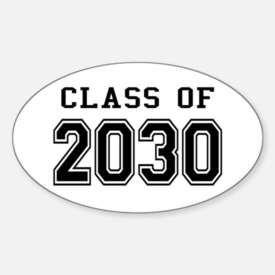 Class of 2030 Sticker (Oval)