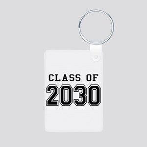 Class of 2030 Aluminum Photo Keychain