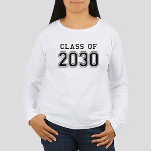 Class of 2030 Women's Long Sleeve T-Shirt