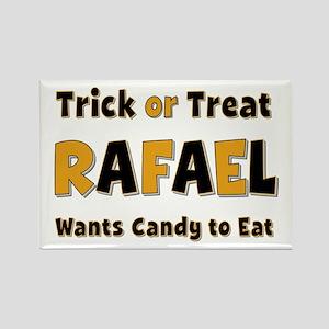 Rafael Trick or Treat Rectangle Magnet