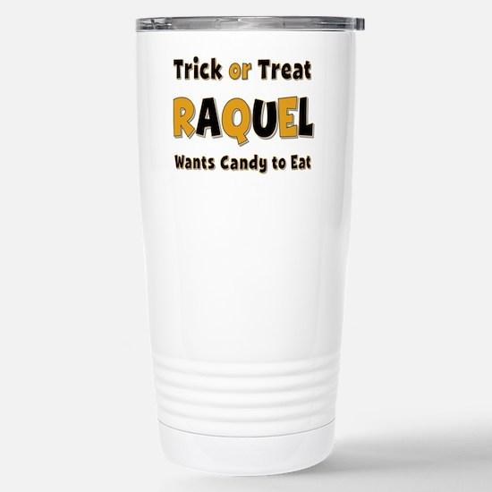 Raquel Trick or Treat Stainless Steel Travel Mug