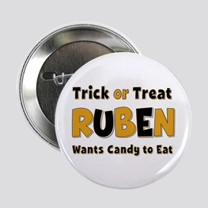 Ruben Trick or Treat Button