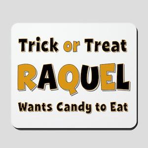 Raquel Trick or Treat Mousepad