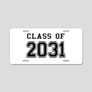 Class of 2031 Aluminum License Plate