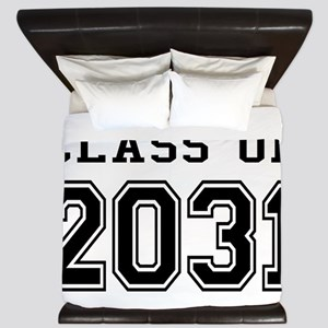 Class of 2031 King Duvet