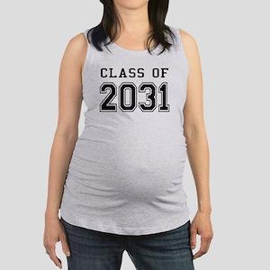 Class of 2031 Maternity Tank Top