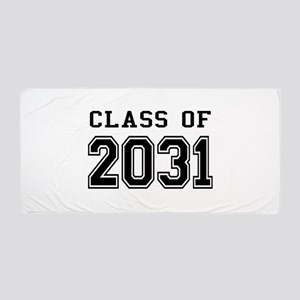 Class of 2031 Beach Towel
