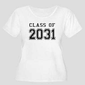Class of 2031 Women's Plus Size Scoop Neck T-Shirt
