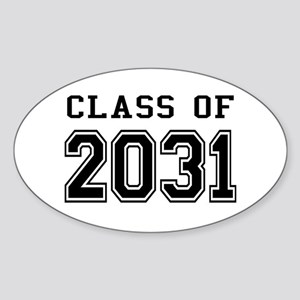 Class of 2031 Sticker (Oval)