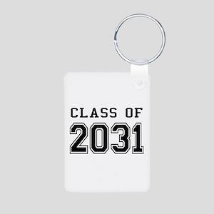 Class of 2031 Aluminum Photo Keychain