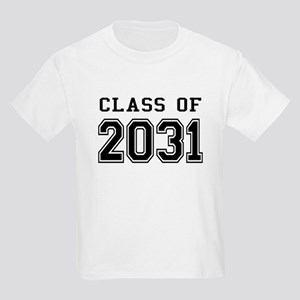 Class of 2031 Kids Light T-Shirt