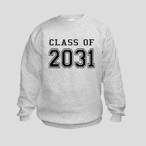 Class of 2031 Kids Sweatshirt