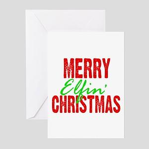 Cajun christmas greeting cards cafepress elfin christmas greeting cards pk of 10 m4hsunfo