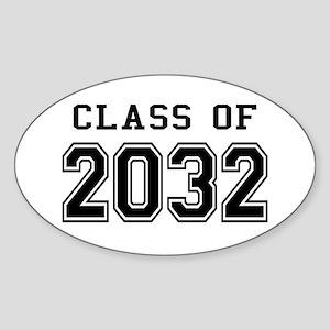 Class of 2032 Sticker (Oval)