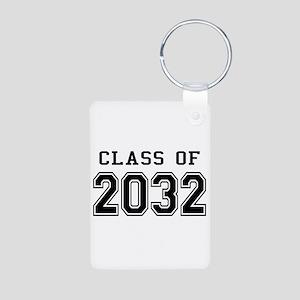 Class of 2032 Aluminum Photo Keychain