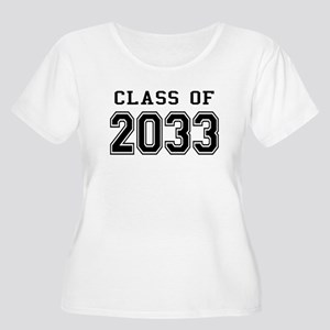 Class of 2033 Women's Plus Size Scoop Neck T-Shirt