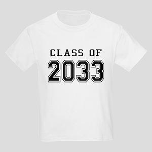 Class of 2033 Kids Light T-Shirt